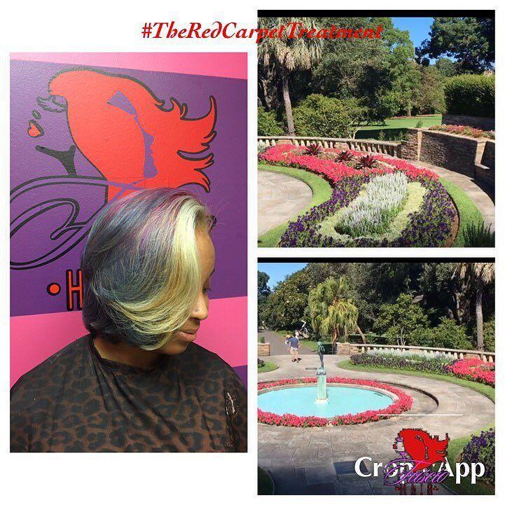 Australia Color Collection... Inspired by The Royal Botanical Gardens... BOOK NOW @ FascioHair.com  Link in the bio #TheRedCarpetTreatment #FascioHair #Color2Dyefor  #gypsyoil #naturalhair #healthyhair #longhair #lahair #lahairstylist  #shorthair #weavologist #nolahairstylist #neworleanshairstylist #nolastylist  #hair  #sewin #haircut #extensions  #haircare #protectivestyling #ohcurl #curlyhair #kinkycurl #coilyhair #kinkyhair #naturalhairmojo #curly #hairartist #tresses by fasciohair
