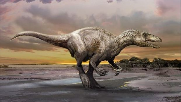 Newly discovered dinosaur joins a mysterious family of 'giant thieves'