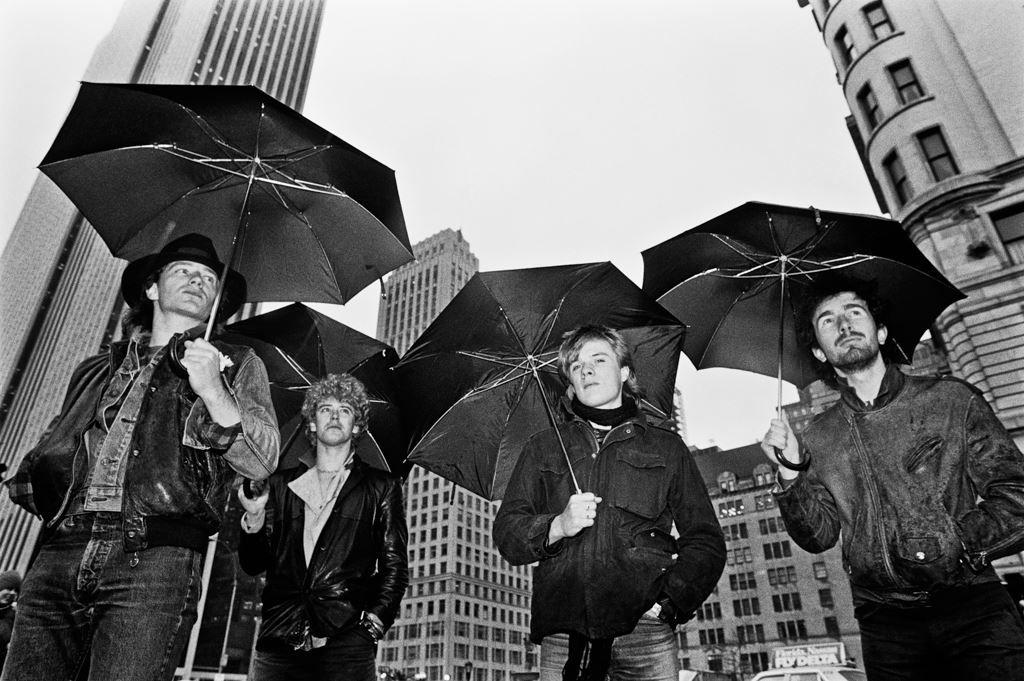 rainy day foursome
