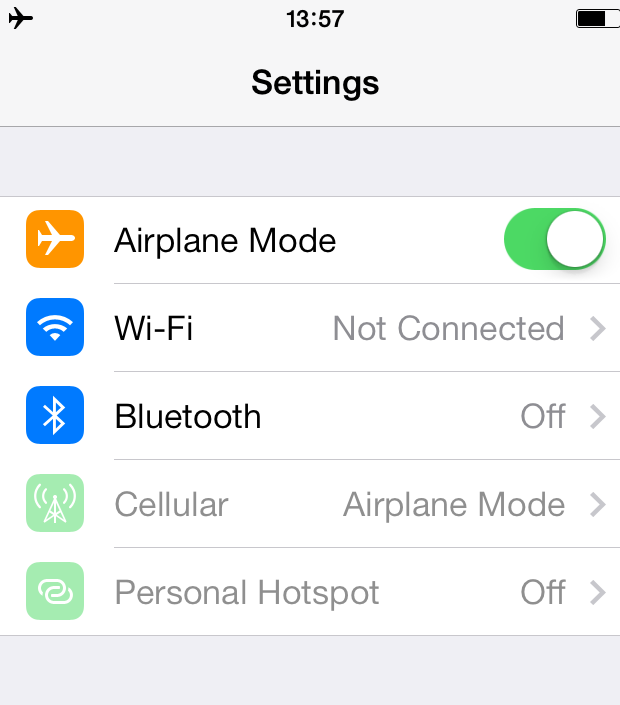 Using Your Iphone Abroad With Wifi And Airplane Mode Airplane Mode Wifi Guest Wifi