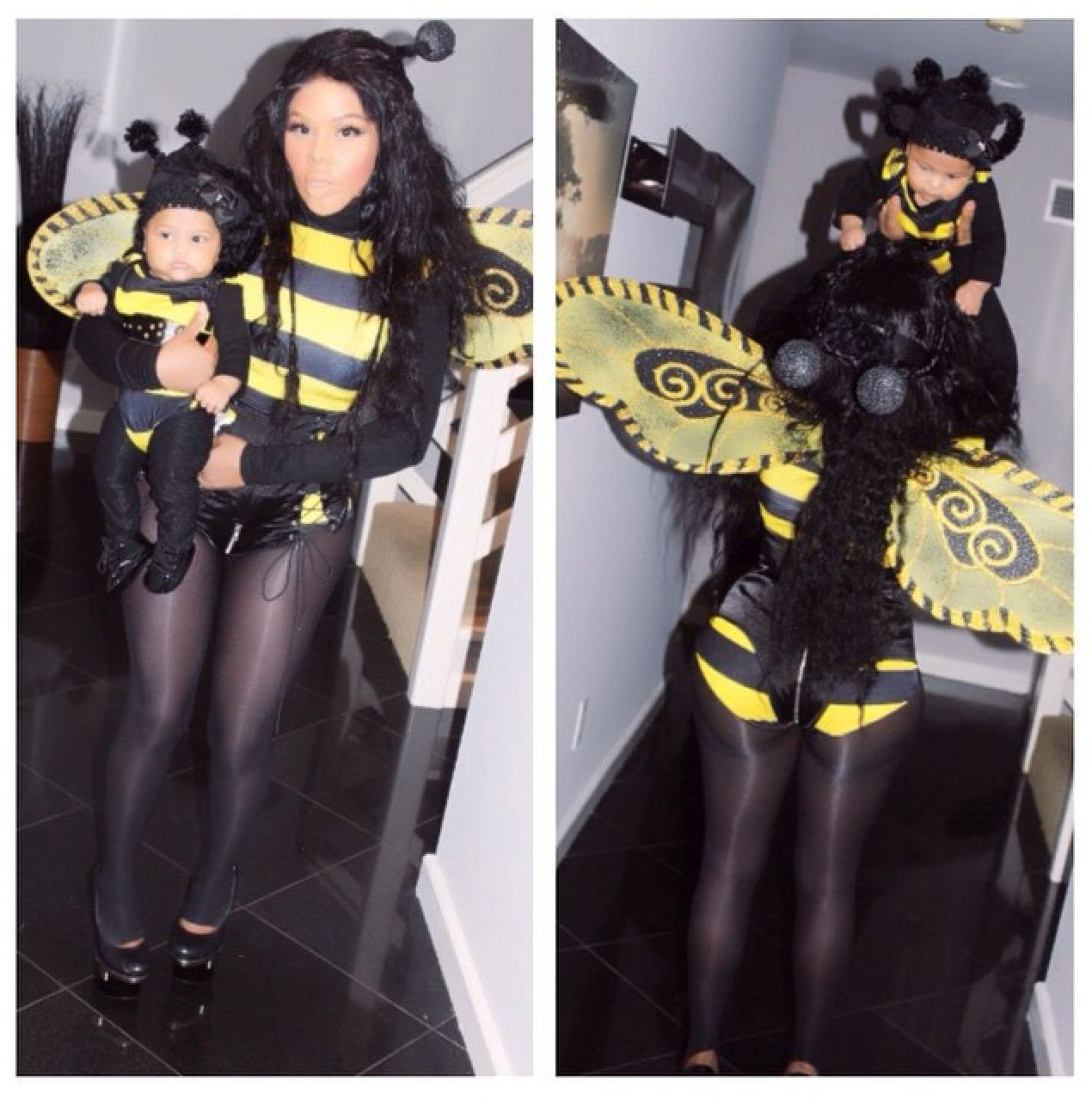 Lil kim and her baby Celebrity baby names, Celebrity
