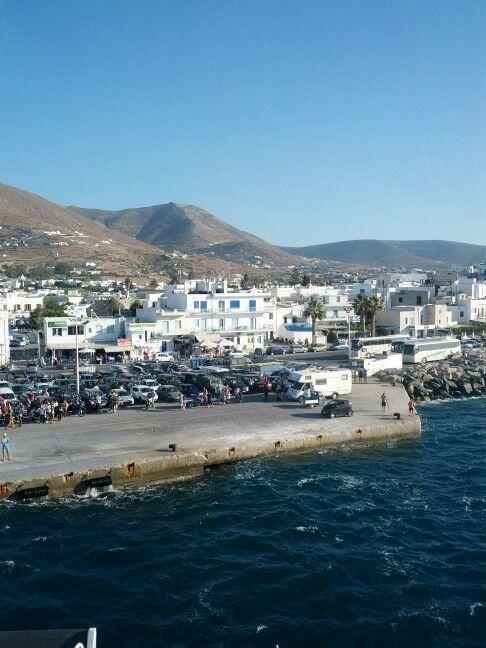 Port of Paros