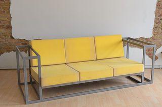 Full Metal Sofa Design De Moveis Moveis Industriais Poltrona Design