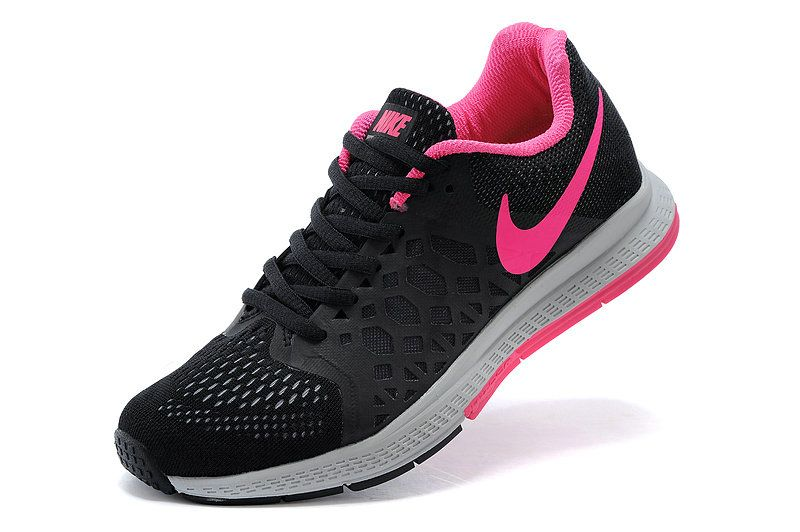 buy popular 4d7b3 306cf ... netherlands big boys shoe youth nike air zoom pegasus 31 black pink  force 00ab4 d0f9e