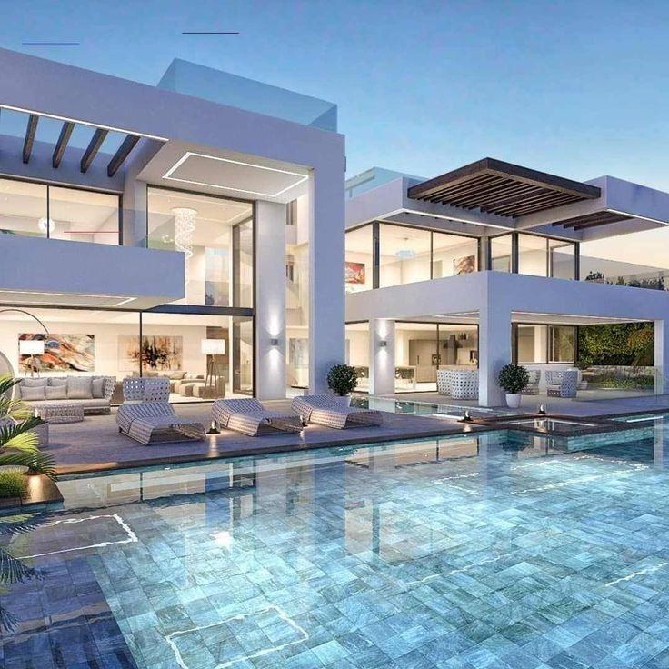 Pin By Ella On Luks Evler In 2020 Luxury Houses Mansions Luxury Homes Dream Houses Luxury House Designs