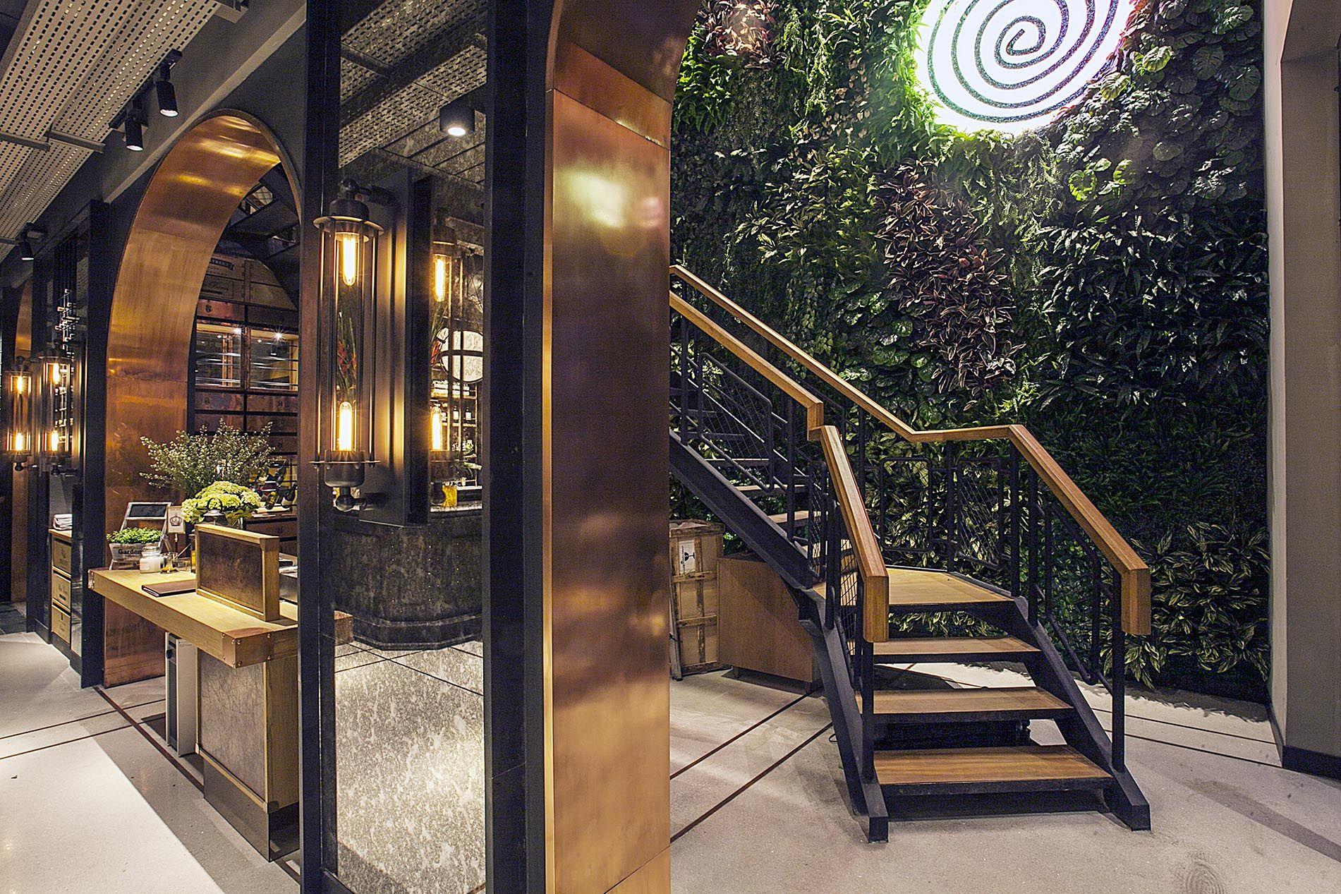 Hurricane S Grill At Gunawarman Jakarta Bar Restaurant Interior Bar Design Restaurant Grill Restaurant
