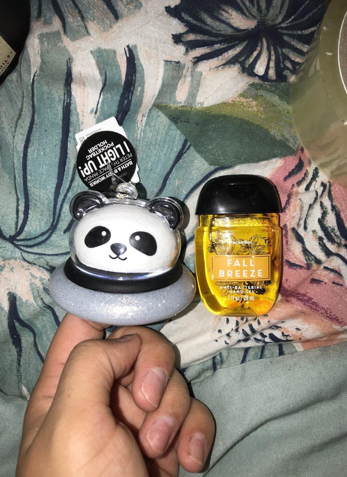 Space Panda Pocketbac Holder 1 Hand Sanitizer Lights Up In 5