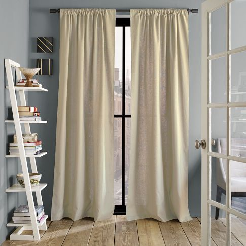 Linen Cotton Window Panel Flax West Elm I Can T Stop