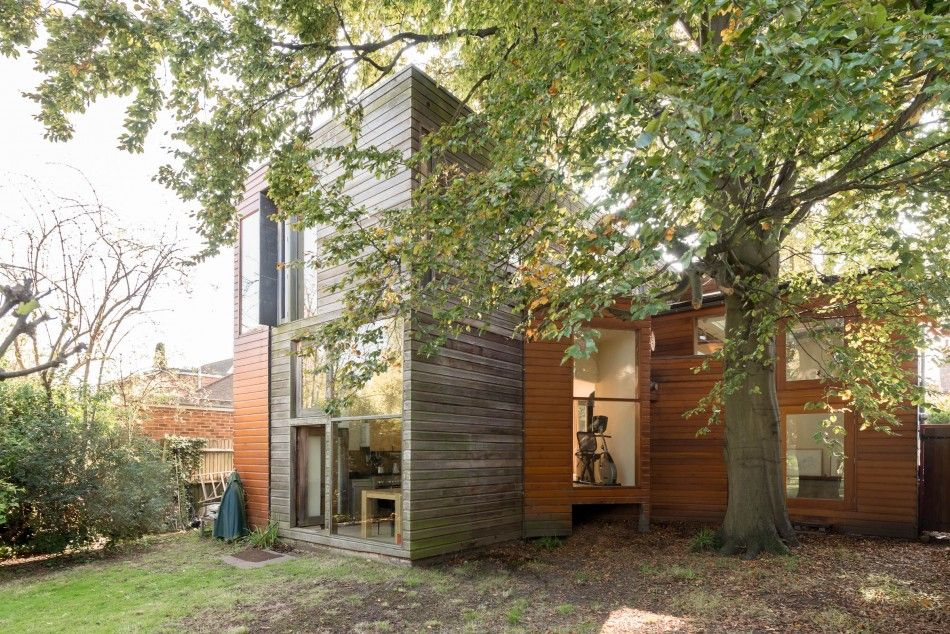 This Is A Rare And Exciting Example Of A Modern House With A Large Garden On