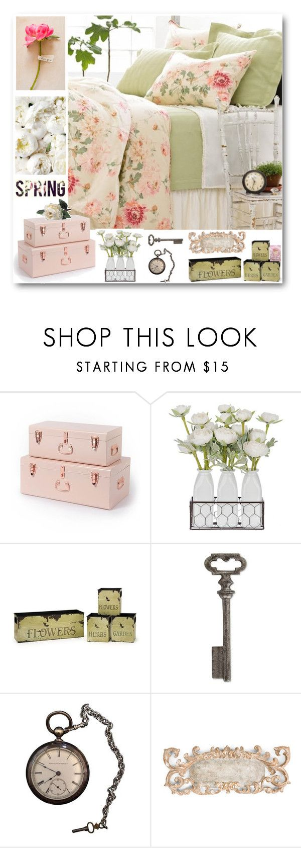 """""""Spring Peony"""" by magicalslipper ❤ liked on Polyvore featuring interior, interiors, interior design, home, home decor, interior decorating, Thirstystone, Aidan Gray and Abigail Ahern"""