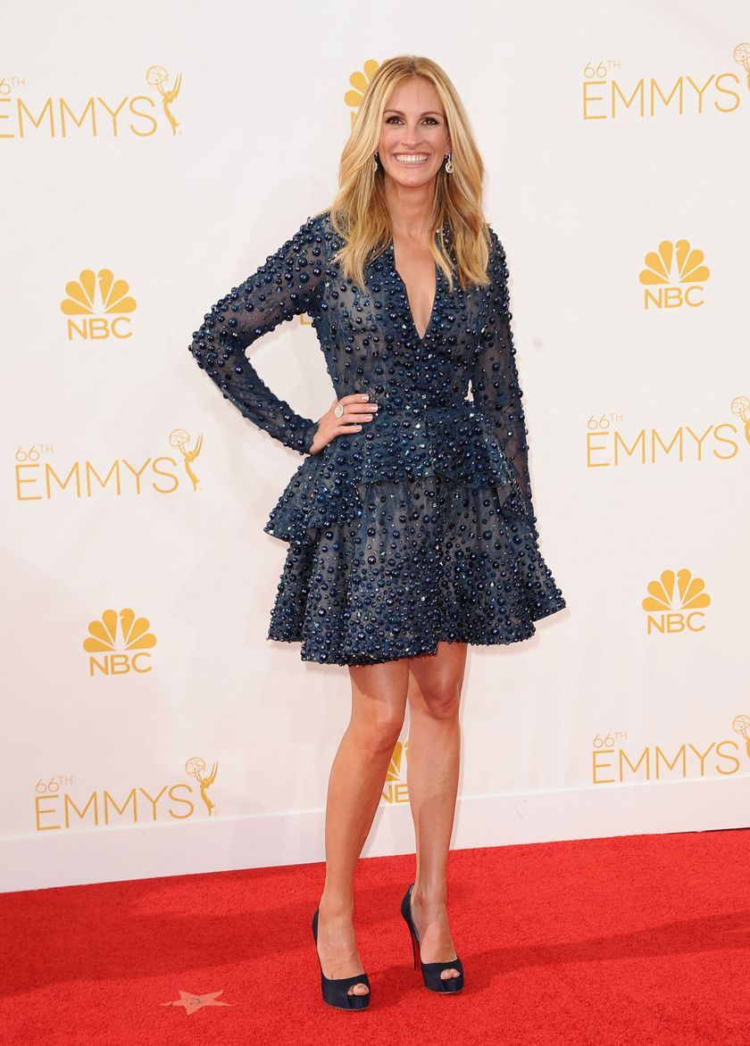 The Best Worst And Most Improved At The 2014 Emmys Red Carpet Fashion Nice Dresses Fashion [ 1172 x 840 Pixel ]