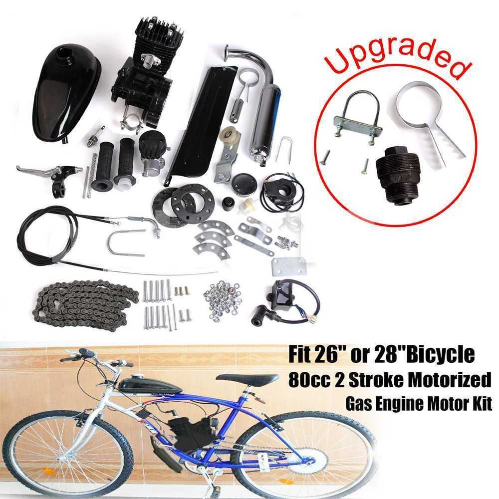 Details About 2 Stroke Air Cooling 50cc Bicycle Engine Motor Kit