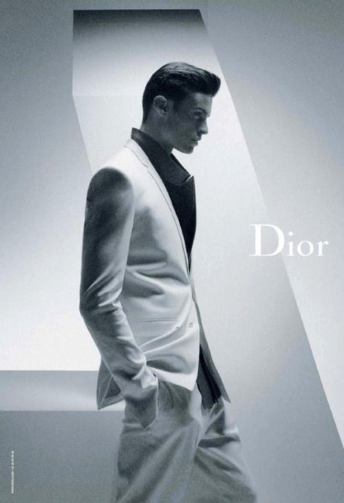 http://chicerman.com  fybaptiste:  Dior Homme Spring/Summer 2012Ph: Karl Lagerfeld  #MENSUIT #TAILORSUIT