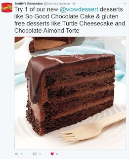 Gluten Sensitive Menu At Smitty S In Edmonton Best Chocolate Cake Gluten Free Cakes Gluten Free Restaurants
