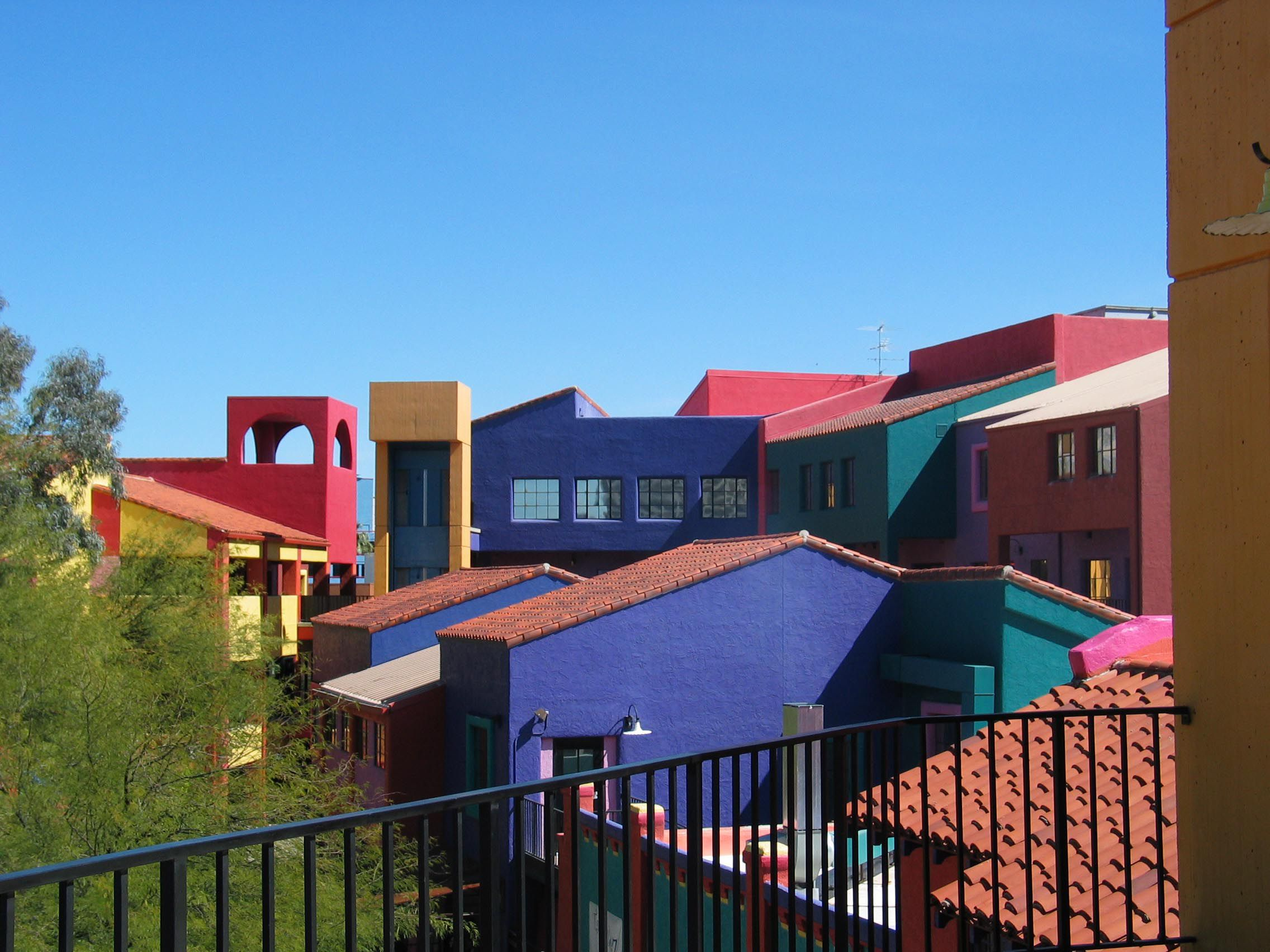 Free Photos Tucson Az Vista House Colourful Buildings Building