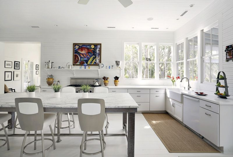 5 Unusual And Gorgeous Kitchens With No Upper Cabinets Kitchen