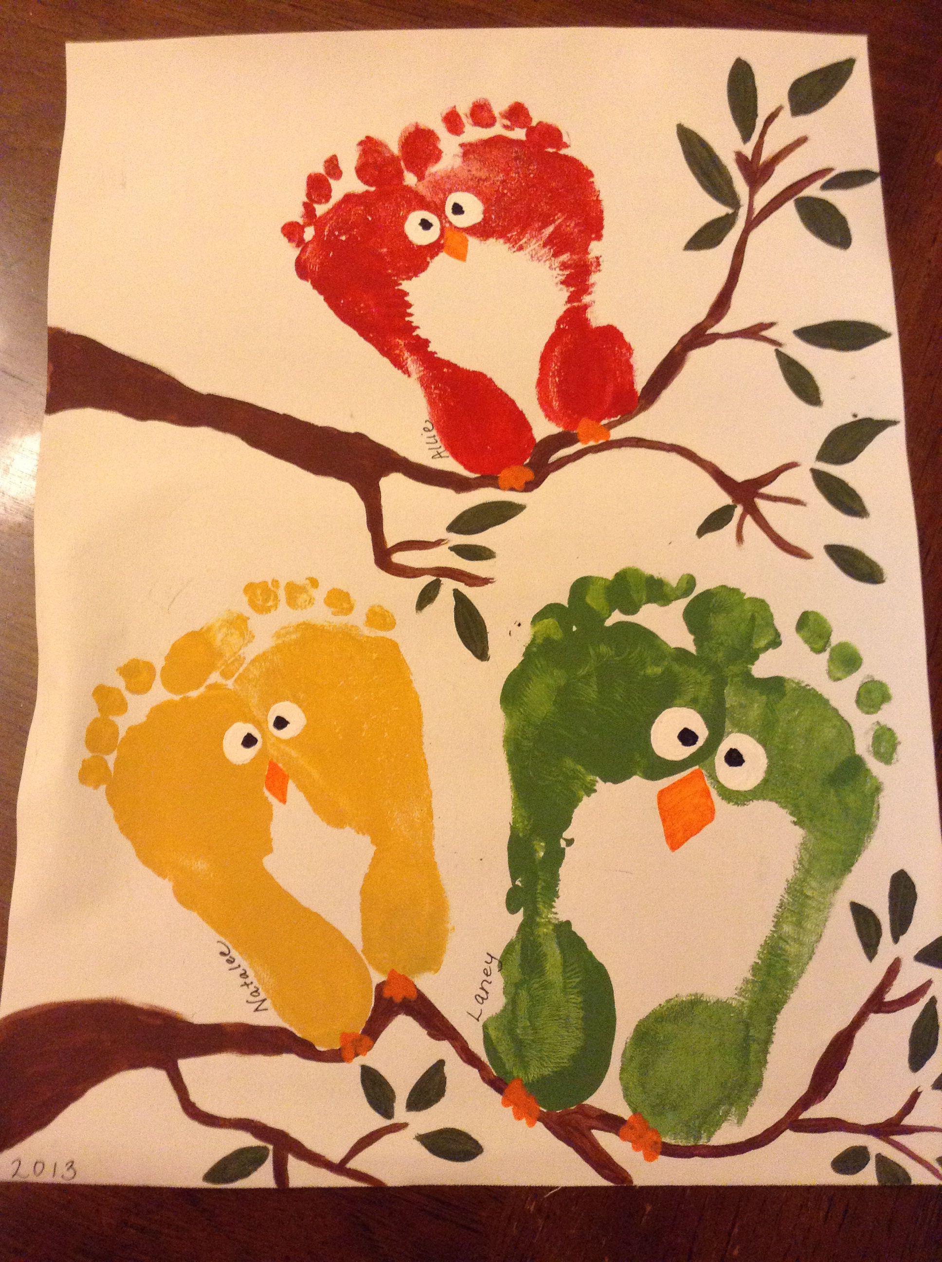 Feet Art | Crafts | Pinterest | Crafts, Footprints and Footprint art