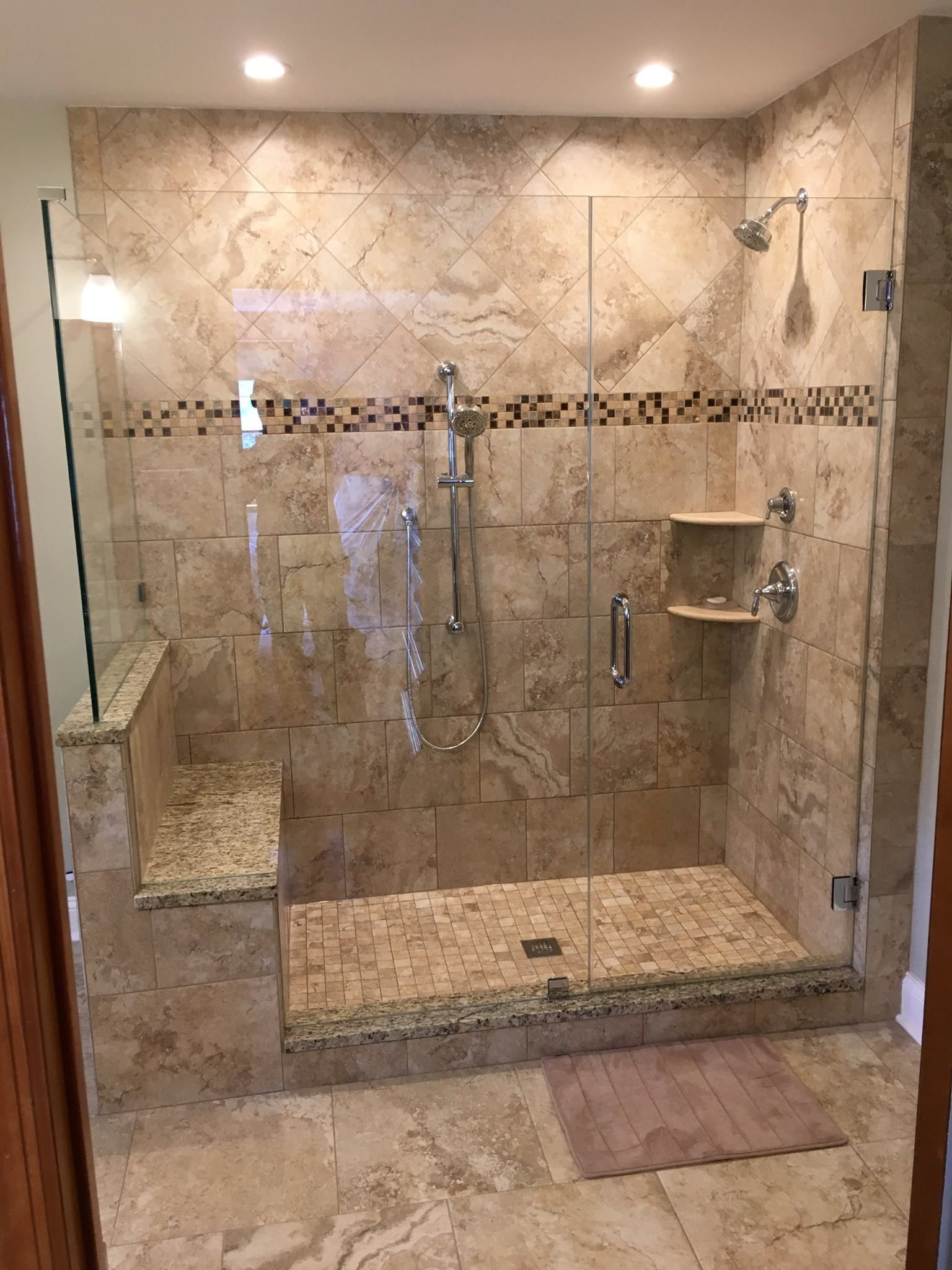 Gallery - Tileable Shower Pans, Shower Bases, Niches, Drains & More ...