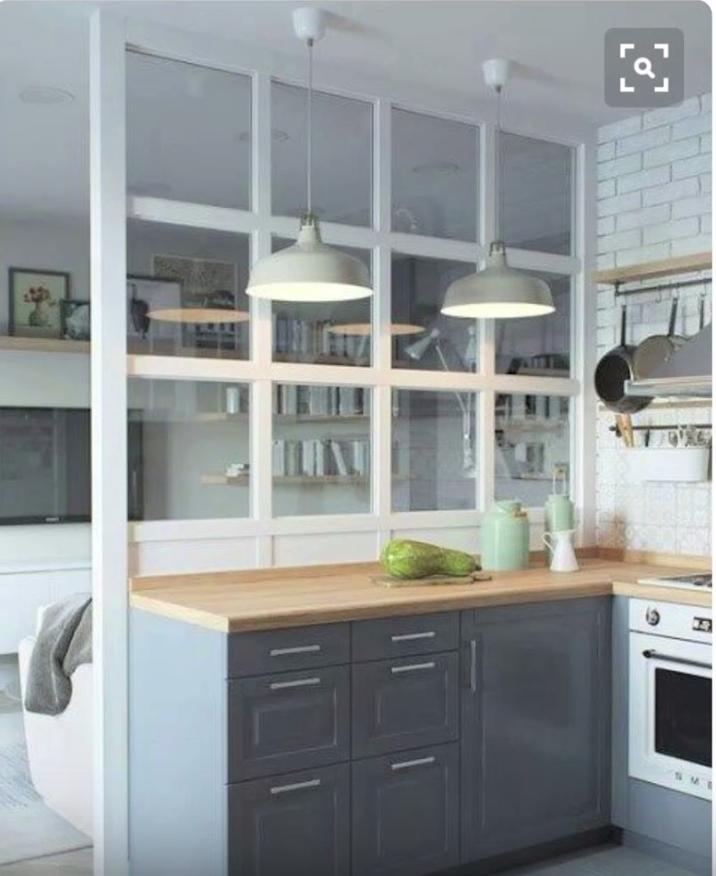 Cocina acristalada casas en 2018 pinterest cocinas - Pared acristalada ...