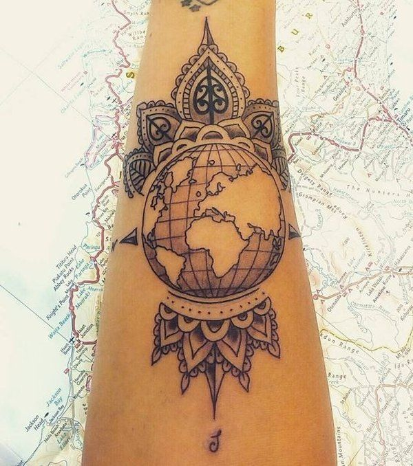 For travel friends – The globe,  #friends #Globe #Inspirationaltattoosshoulder #Travel