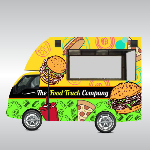 Need The Greatest Food Truck Design Ever Car Truck Or Van Wrap Contest Car Truck Van Design Food Truck Design Truck Design Food Truck