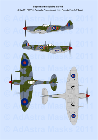 Ad Astra Masks - Make your markings look painted on, because they are :)