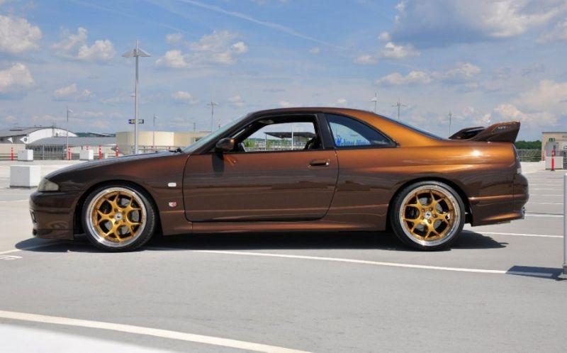 nissan skyline gtr 33 | Bronze Colored Nissan Skyline R33 GT