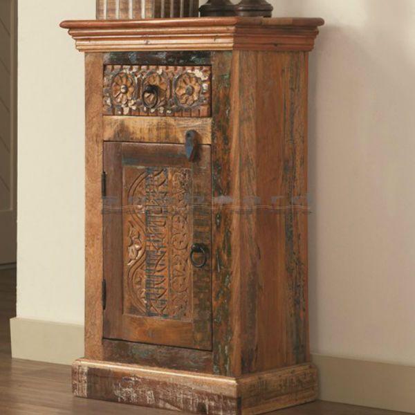 Best This Coaster Petite Antique Rustic Accent Cabinet 950371 400 x 300