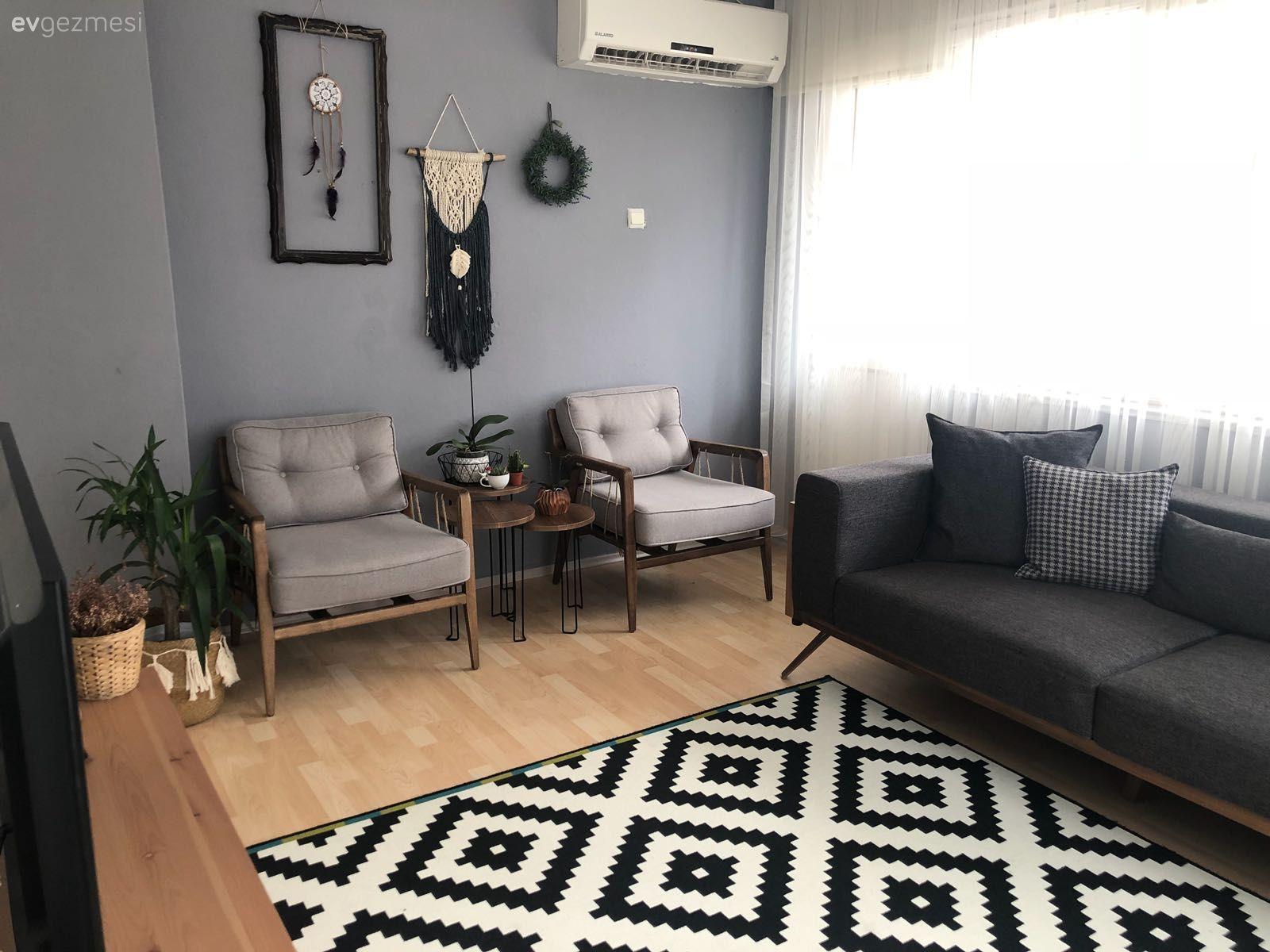 Renkli Bir Ortamdan Sade Ve Dogal Dekora Leyla Hanimin Evinin Yeni Tasarimi Wohnzimmerde Oturma Odasi Takimlari Ikea Oturma Odasi Oturma Odasi Tasarimlari