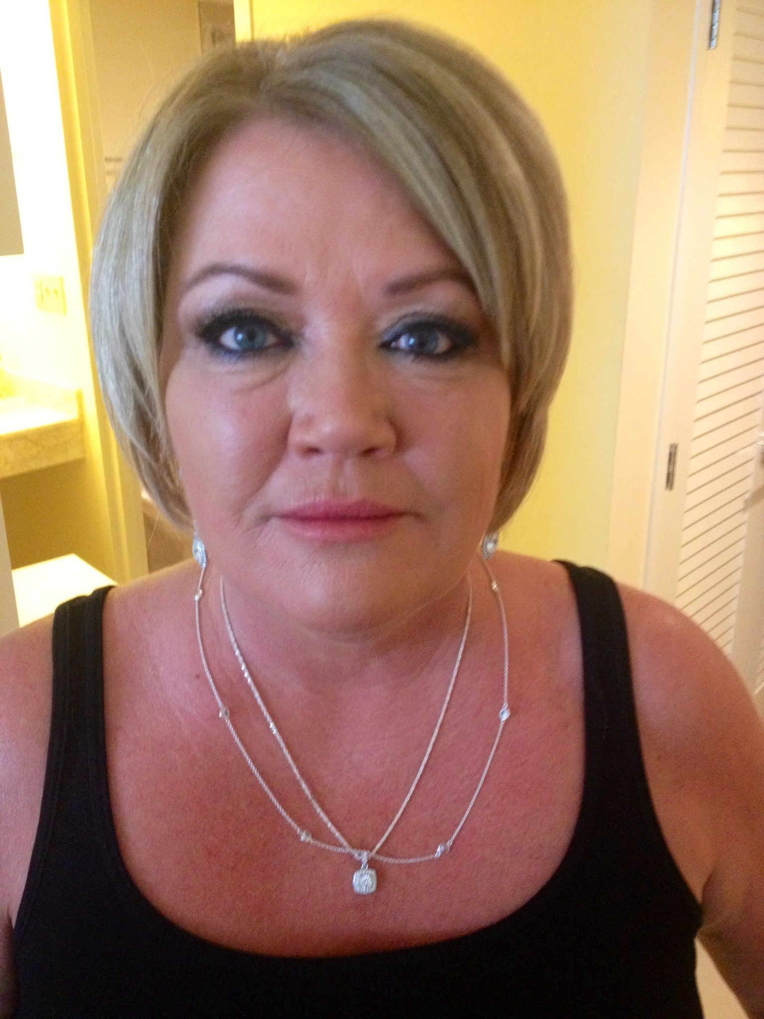 May 4th 2013. Mother of the bride makeup. By Kristal