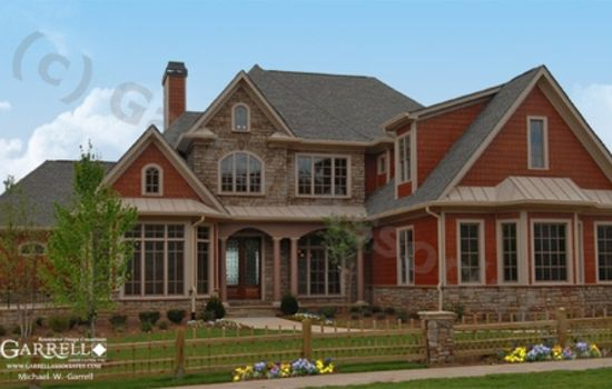 Rustic Craftsman Style House Plans The Exterior Of This