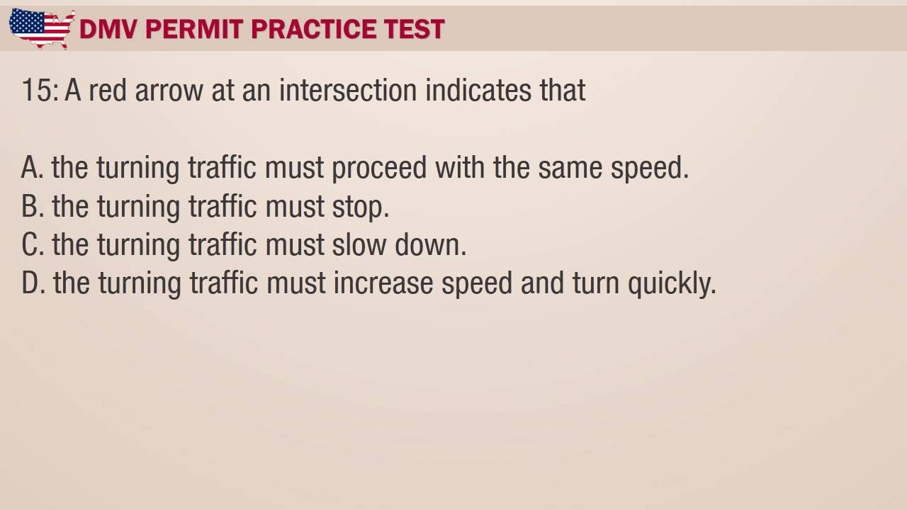 az drivers licence test questions