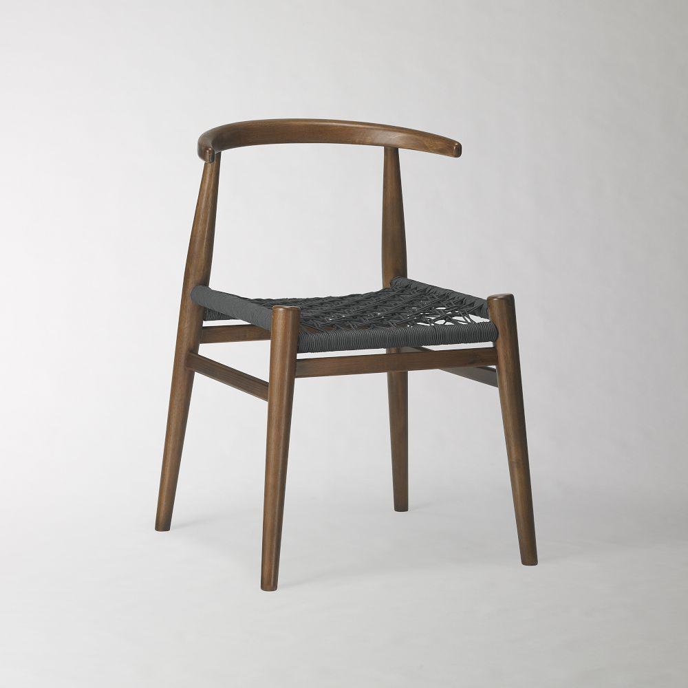 John Vogel Chair   Acorn/Charcoal