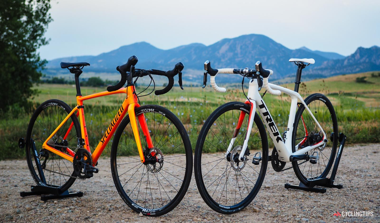 The Specialized Roubaix And Trek Domane Slr Are Arguably The Top Two Endurance Road Bikes On The Market But Bike Riding Benefits Mountain Bike Training Bike