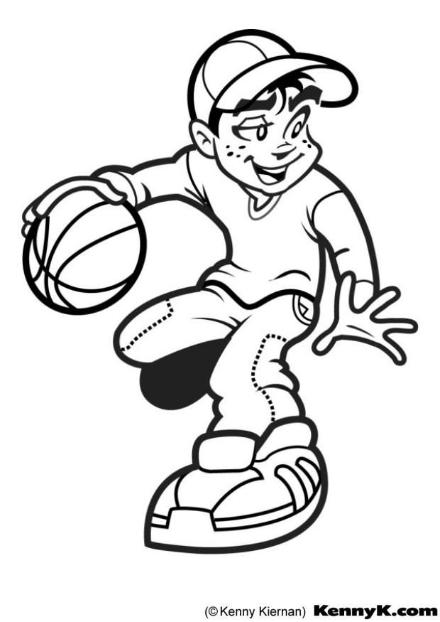 basketball coloring pages2