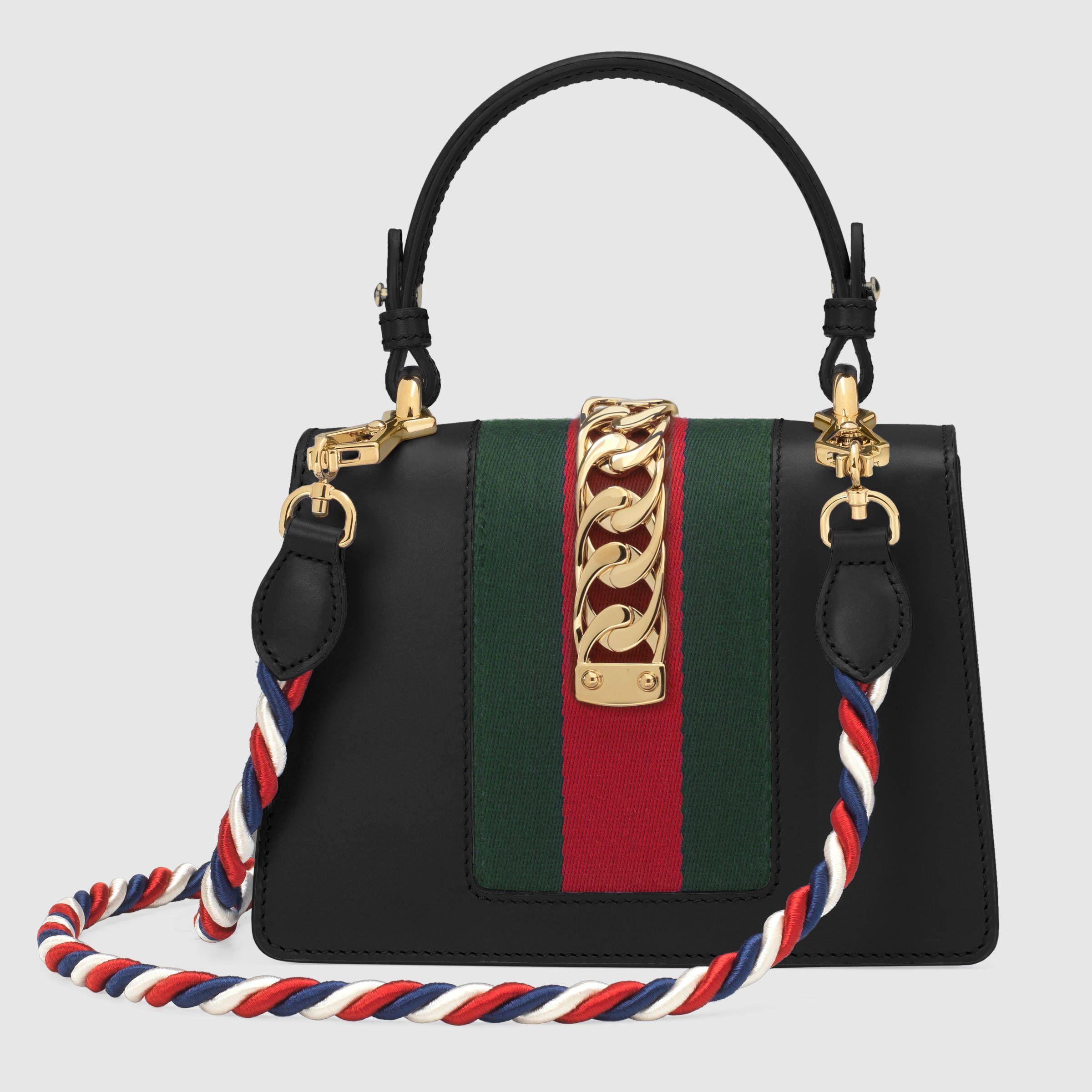 146df3beaa6c Gucci Mini Sylvie Velvet Top Handle Bag #Guccihandbags   Bags   Bags, Gucci  handbags, Mini Bag