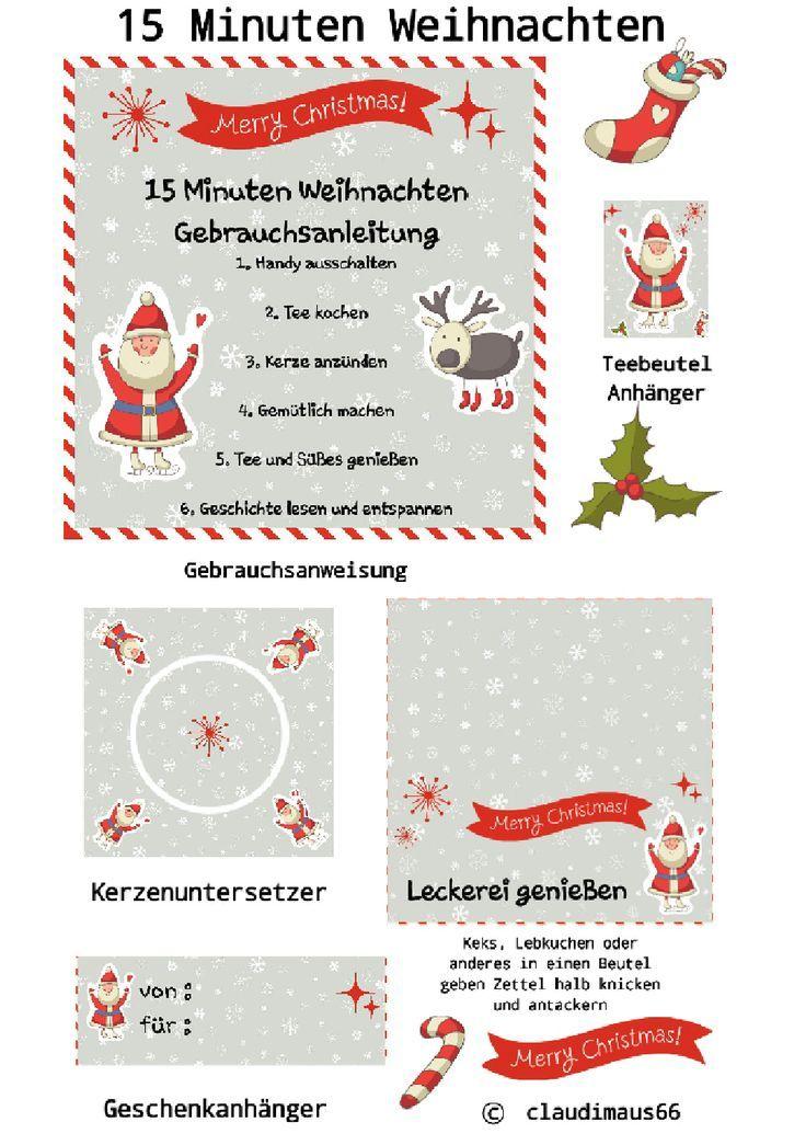15 Minuten Weihnachten... eine der nettesten Weihnachts Geschenke überhaupt. - Weihnachten