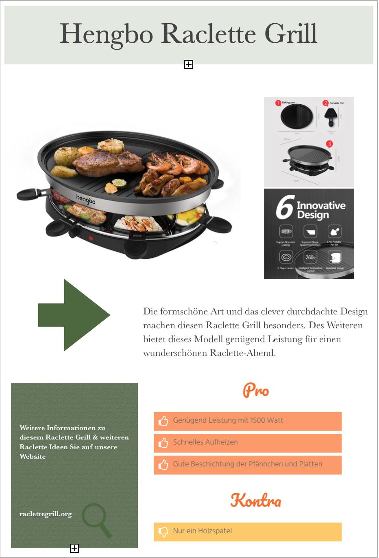 Hengo Raclette Grill Im Produktbericht Weitere Infos Zu Diesem Modell Finden Sie Auf Unserer Website Klicken Sie Dazu Einfach Raclette Ideen Grillen Einfach