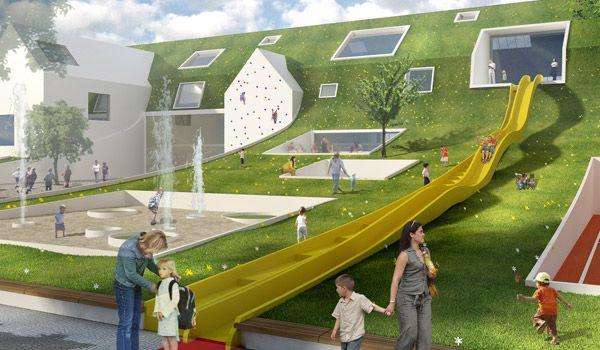 Architectenbureau Den Haag : Brede school mfa in rotterdam eh architects architectenbureau