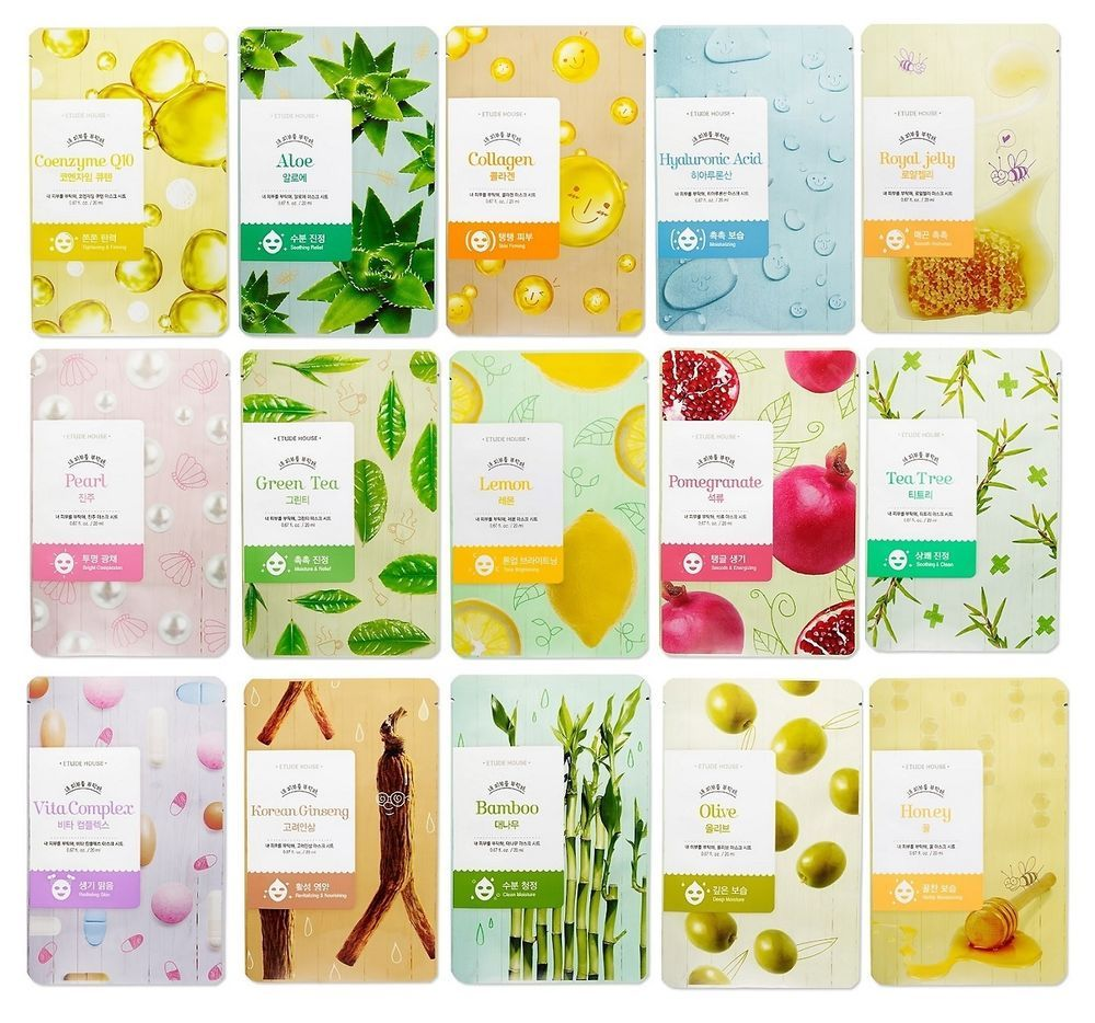 Mask House Deluxe Hydrating Korean Herbal Sheet Mask Pack Microcyn skin and wound care with preservatives, 250 ml part no. 84491 (1/ea)