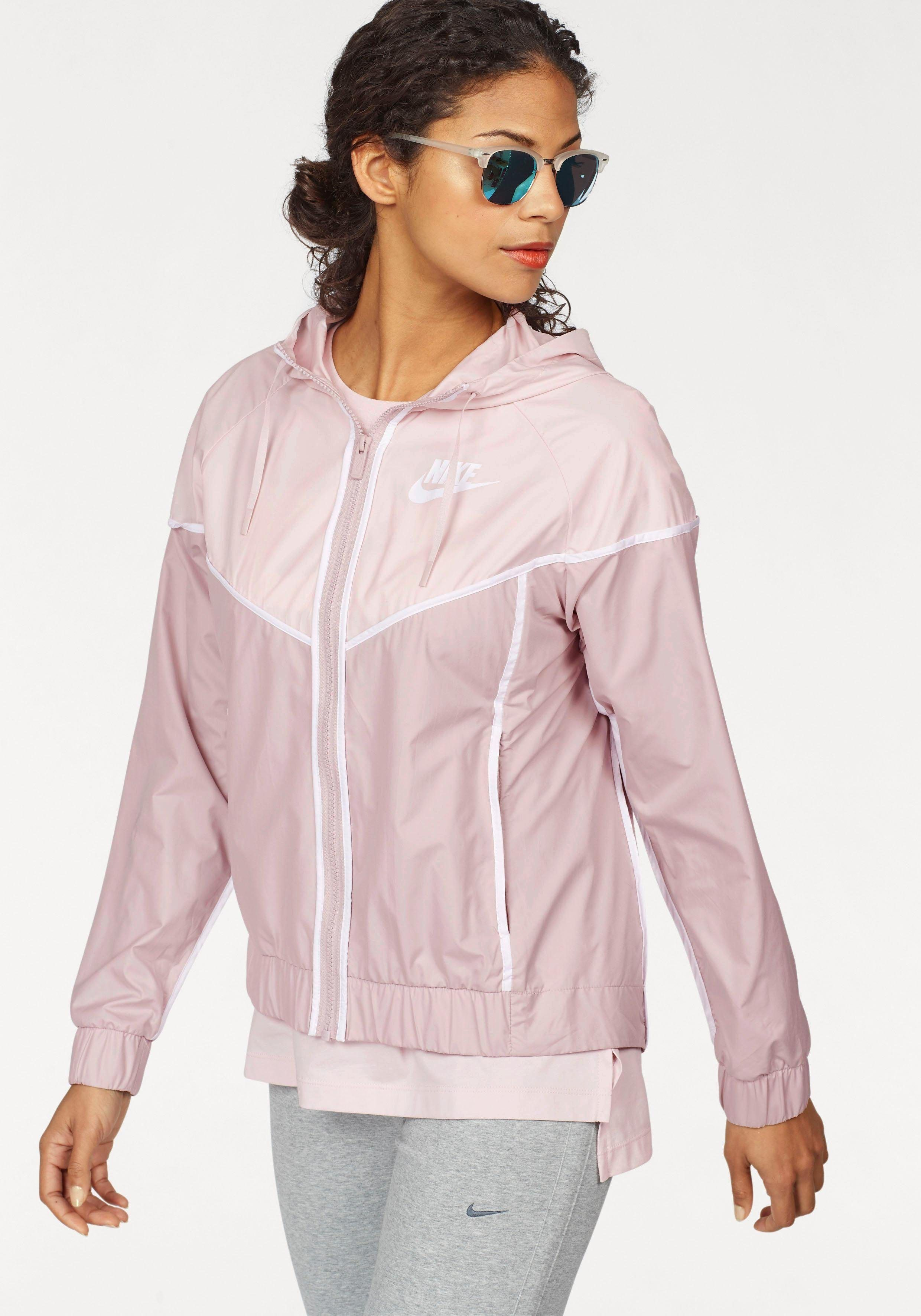Damen #Nike #Sportswear #Windbreaker #WR #JACKET #grau