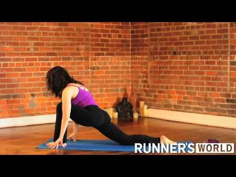 iliotibial band stretch  yoga routine yoga for runners