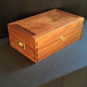 Walnut Jewelry Box by David Klenk Jewelry box Pinterest Box