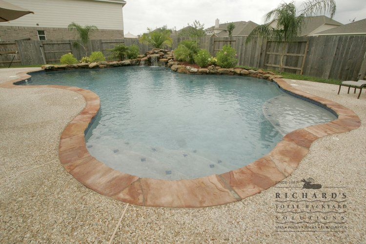 Houston Swimming Pool Gallery » Richards Total Backyard Solutions