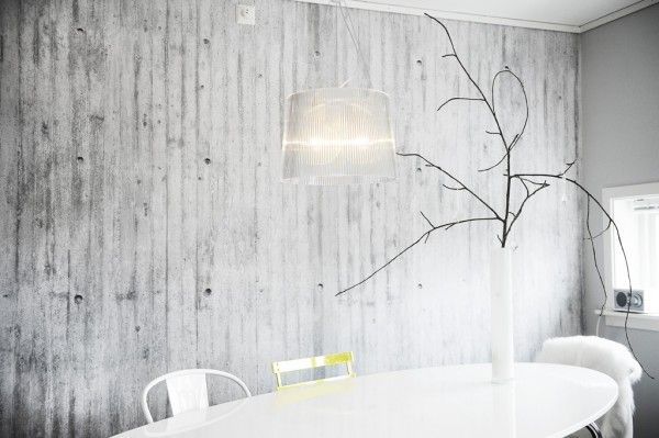 Concrete Wallpapers By Concretewall Trendland Concrete Wallpaper Creative Wall Decor Concrete Wall