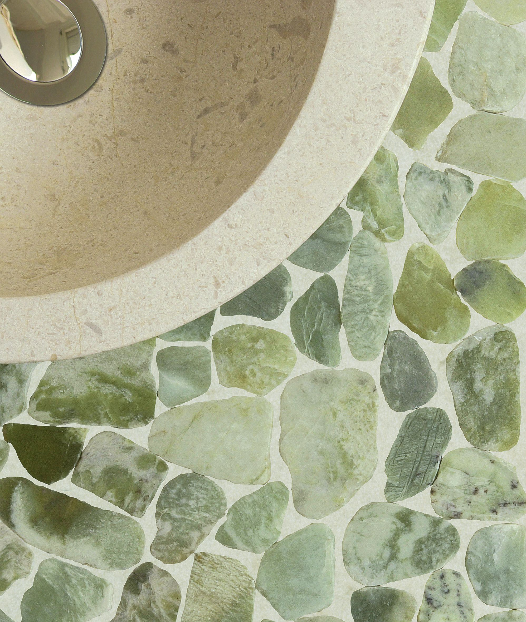 Les Mosaïques Par Bati Orient Shower Floor Tiles 4 Less 34 99 Square Foot