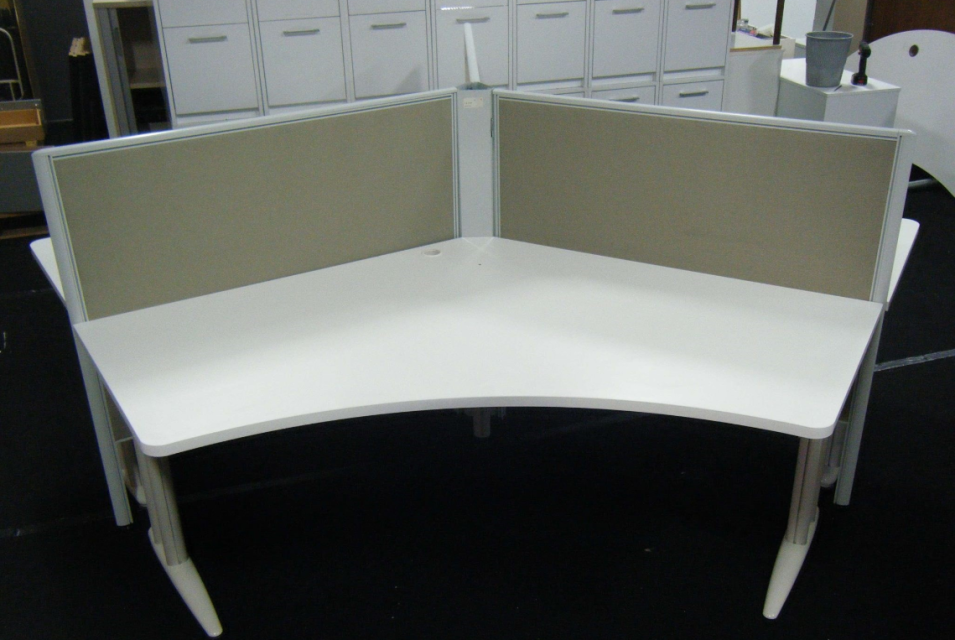 Change Your Office Style With Allofficefurnitureltd Buy Stylish Second Hand 3persondeskpod In White Col Used Office Furniture Furniture Second Hand Furniture