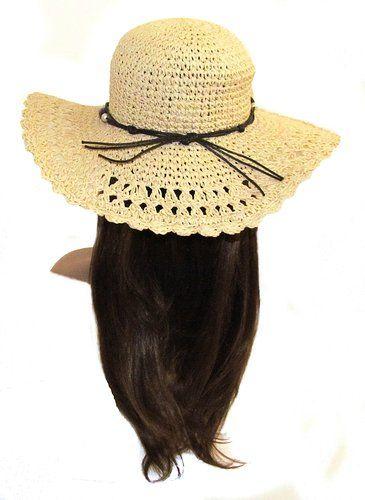 Cheap Crushable Straw Hat Women 9e68ad3047e