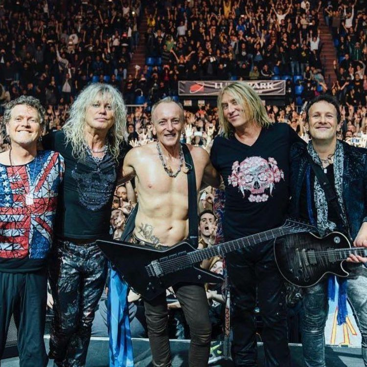 """Cathleen Hattin on Instagram: """"Finally! Def Leppard has been inducted into the Rock and Roll Hall of Fame!!?… 