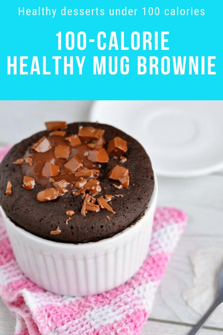100 Calorie Mug Brownie